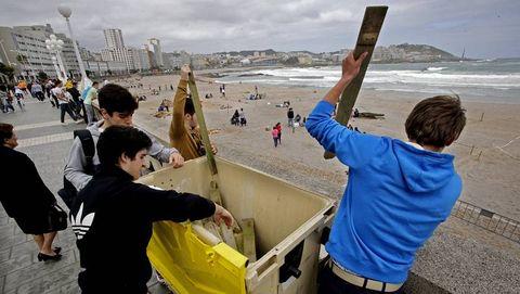 A Coruña se prepara para San Juan