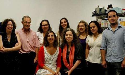 Los investigadores de la Fundación Galega de Xenómica que participaron en el estudio publicado hoy.