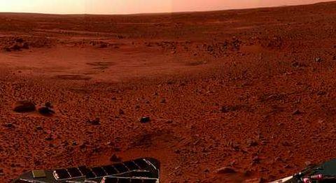 Investigadores estadounidenses sostienen que en Marte aún existen condiciones para albergar vida.