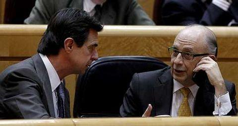 Soria instó al presidente de Gas Natural a que hablase con Navantia, que depende de Montoro, cuando el pedido ya se había perdido.