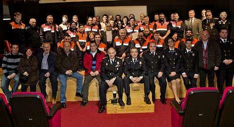 El acto acogió a representantes de toda la comarca.