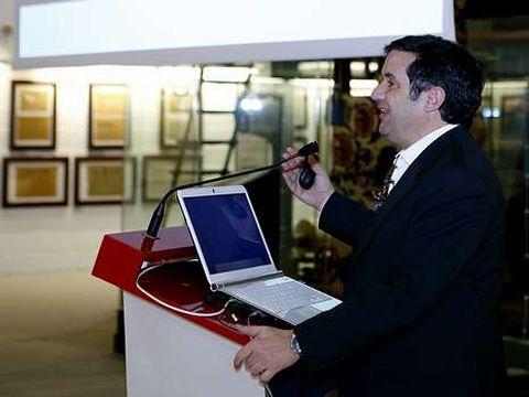 Sierra impartió un foro en el Máster en Produción Audiovisual.