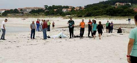 Los restos del submarinista presentaban signos de llevar algún tiempo sin vida.