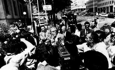 El 12 de agosto de 1992 era inaugurada en Cuatro Caminos la calle a la que da nombre el actor.