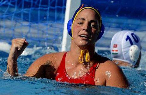 La jugadora Maica García tuvo un papel muy importante tanto en la final como en la semifinal del Europeo.
