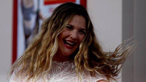 La actriz Drew Barrymore en un reciente estreno de cine