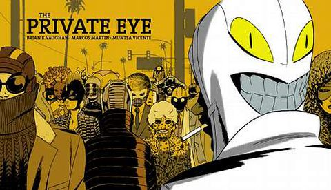 El cartel de esta edición es obra de Max, invitado en el salón el año pasado. Arriba, «The Private Eye», de Marcos Martín, y a la derecha, ilustración de Jano.