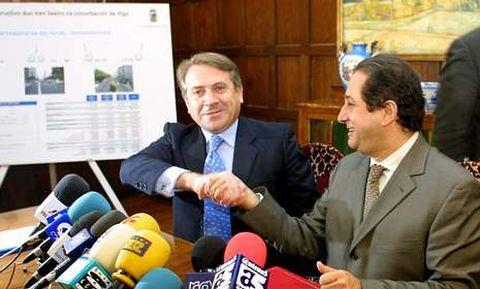 Cuíña y Príncipe firmaron un convenio por el metro.