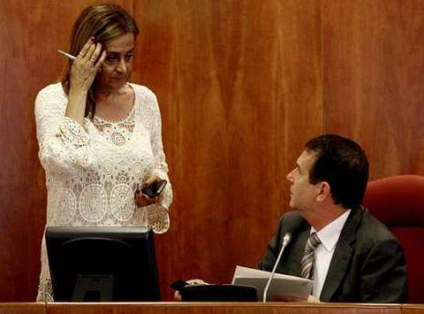 Abel Caballero y Carmela Silva forman tándem en el Concello de Vigo desde el 2007.