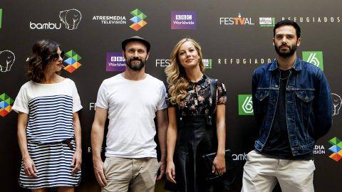 Los actores Natalia Tena, William Keen, Charlotte Vega y David León