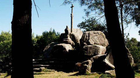 De Santiaguiño do Monte, en Padrón, cuenta la tradición que el Apóstol predicó allí en su viaje a Galicia