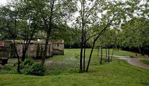 Parque lineal del Gafos, en Pontevedra