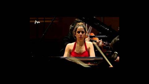 Rosalía Gómez Lasheras, pianista ganadora del prestigioso concurso de piano YPF de Ámsterdam