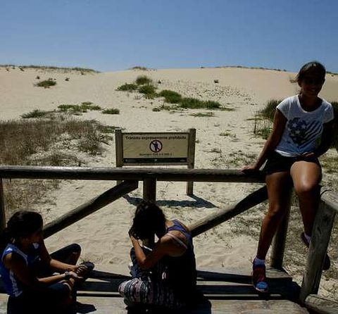 <span lang= es-es >Las dunas</span>. Más de un 23% de los coruñeses que participaron en la encuesta aseguraron conocer el parque de Corrubedo.