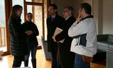 Responsables del organismo provincial y la universidad formalizaron el acuerdo en el centro científico
