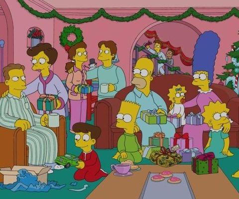 Antena 3 acompañará la cena con un especial de «Los Simpson».