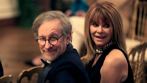 Steven Spielberg y su mujer Kate Capshaw