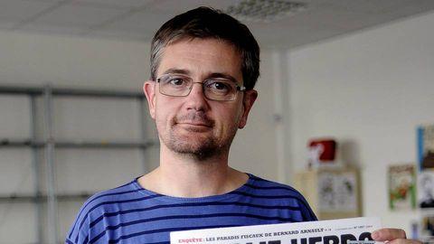 El director de «Charlie Hebdo», Charb.