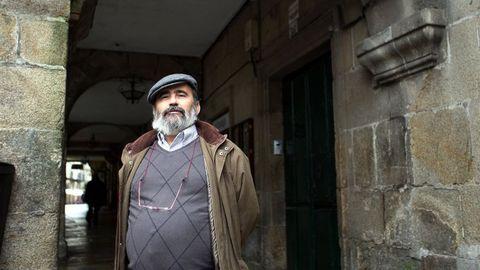 Juan Carlos Ulla, en una foto de archivo en Santiago