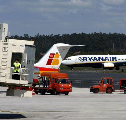 La oferta de Ryanair e Iberia a Madrid es insuficiente.