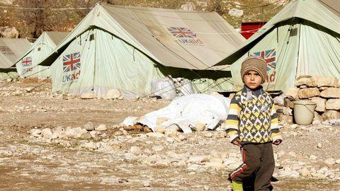 Refugiados yazidíes en Irak