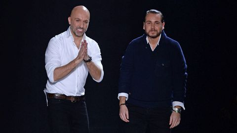 Los diseñadores francés Arnaud Maillard y el español Álvaro Castejón