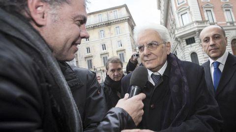 Mattarella anunciará sus propuestas el martes en la ceremonia de investidura.