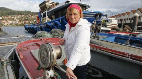 A la marinera Raquel Castiñeira le dicen que, si ella no puede, que trabaje su marido.