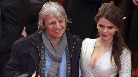 El director de cine alemán Andreas Dresen y la actriz alemana Ruby O. Fee.