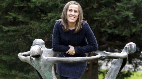 Ethel Vázquez, conselleira de Infraestruturas e Mobilidade