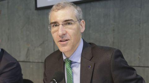 Francisco Conde, conselleiro de Economía, Emprego e Industria