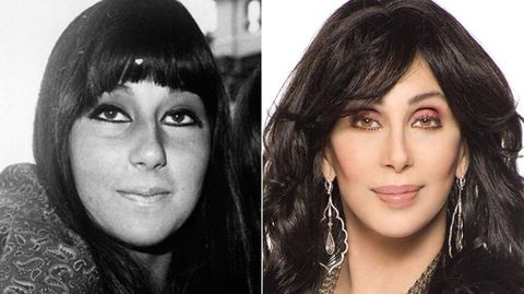 La cantante Cher