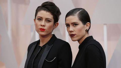 Las cantantes Tegan y Sara