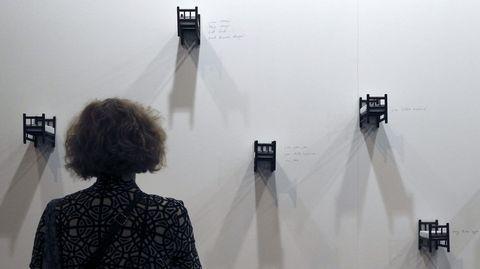Una de las obras de la galería brasileña Emma Thomas en la feria ARCO, que cuenta con la presencia de 218 galerías.