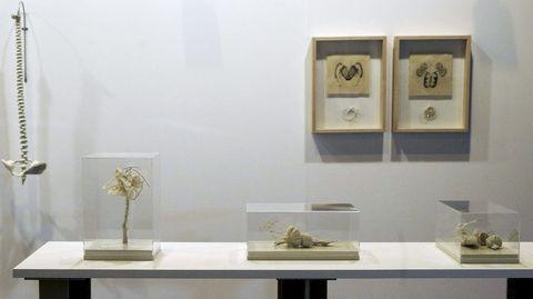 Varias obras de la galería colombiana Nueveochenta, expuestas en ARCO