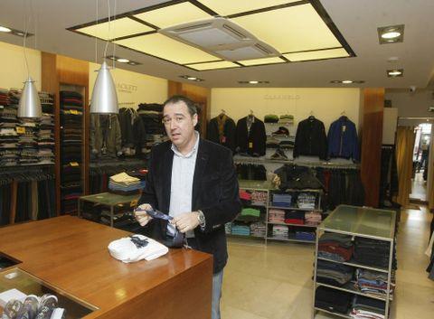 José Ginzo Prieto tomó en 1986 las riendas del negocio que inició su padre.