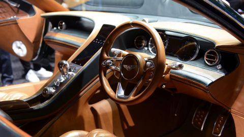 Vista del interior del nuevo Bentley EXP 10 Speed 6 Concept.