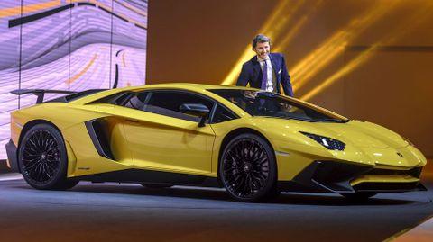 El nuevo Lamborghini Aventador SV.
