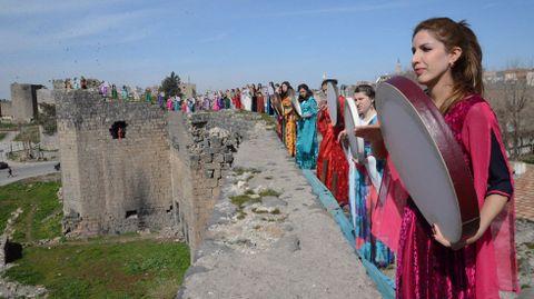 Mujeres kurdas en Turquía