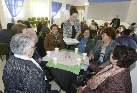 La Casa do Mar de San Cibrao acogió ayer por la tarde diversos actos por el Día da Muller.