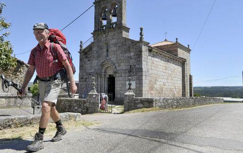 El templo, dedicado a Santiago y ubicado en la Vía da Prata, volverá a abrir para los peregrinos