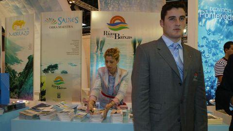 Promotor del turismo de las Rías Baixas en Fitur 2005.
