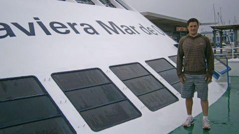 Cal diusfrutó de unos días de vacaciones en las Cíes en el año 2012.