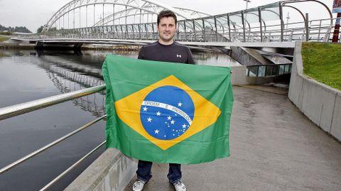 David Cal se trasladó a Brasil junto a su entrenador para afrontar desde allí la preparación para los Juegos de Río 2016.