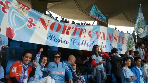 Norte Celeste está representado en cada partido que el Celta disputa como local.