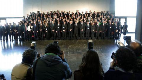 Foto de familia de la jornada sobre tráfico de órganos organizada por el Consejo de Europa