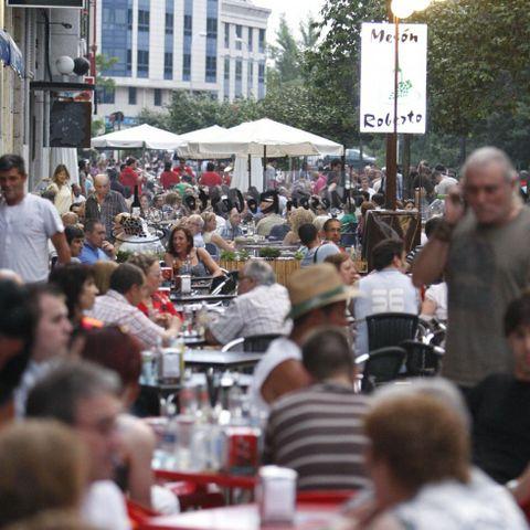 Las fiestas de Sarria congregan a miles de personas.