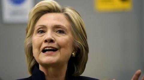 Hillary Clinton, secretaria de estado de EE. UU. y candidata a presidenta.