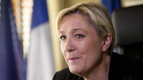 Marine Le Pen, líder del Frente Nacional francés.