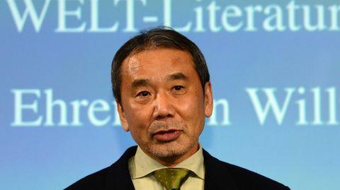 Haruki Murakami, escritor.